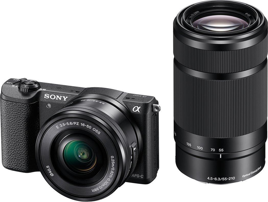 Sony Alpha 5100 kit, incl 16-50 en 55-210mm lens €483 (incl verzenden) @ Amazon.fr
