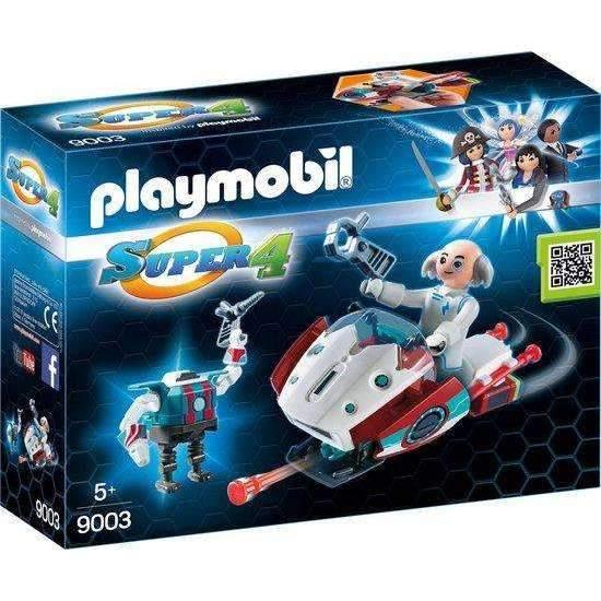 Playmobil Skyjet Dr X & Robot - 9003