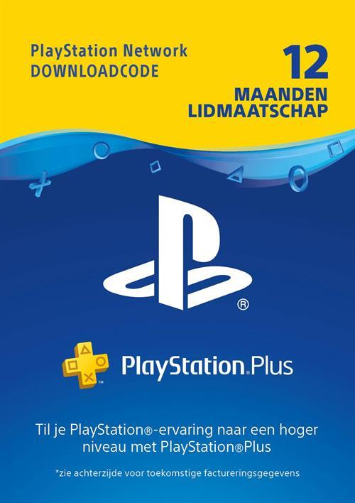 Playstation Plus (PS+) - 12 Month Subscription (nederlands) - Cdkeys.com