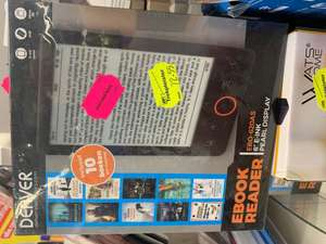 Denver EBO 620AS E-reader met 50% extra kassakorting