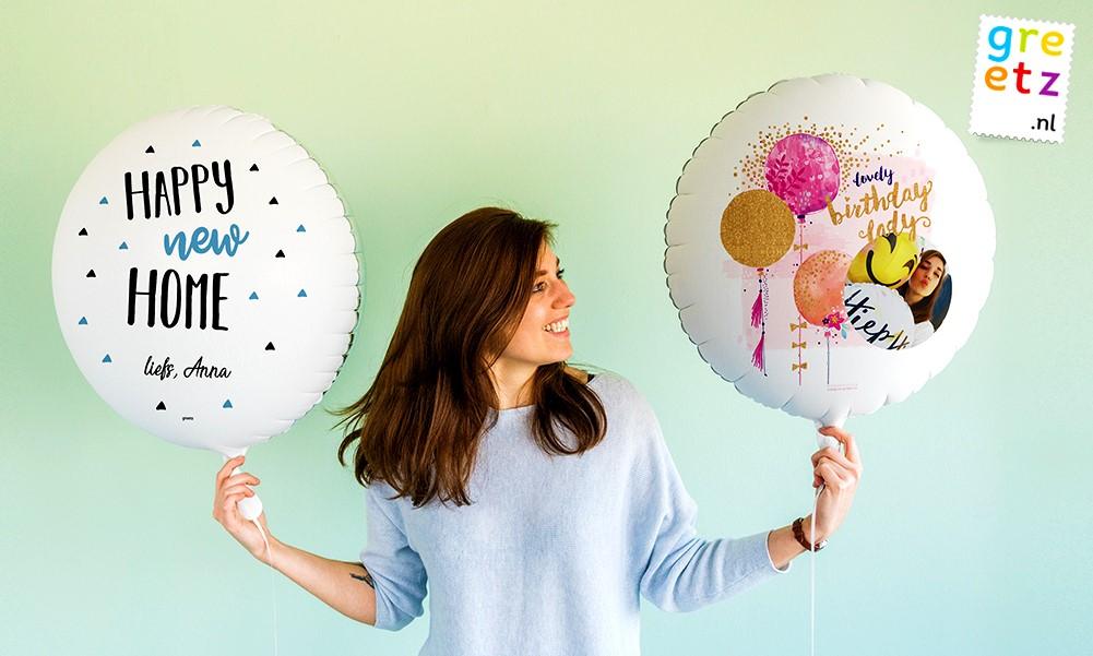Greetz: Waardebon van € 15 geldig op alle ballonnen van Greetz
