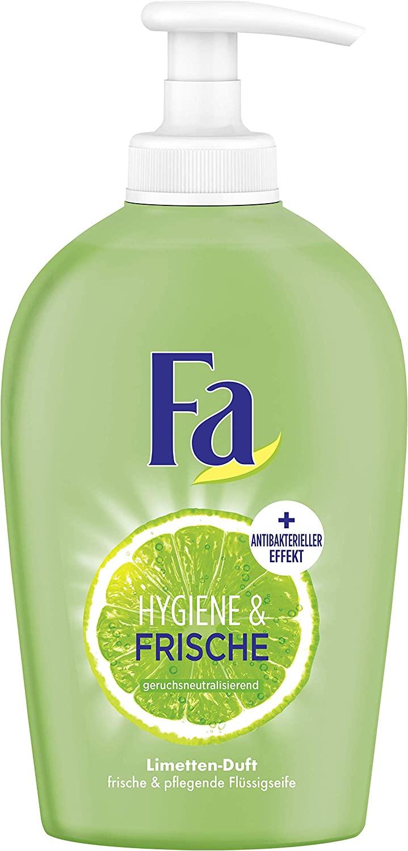 Vloeibare zeep. 6stuks. Hygiëne en frisse geur van limoen