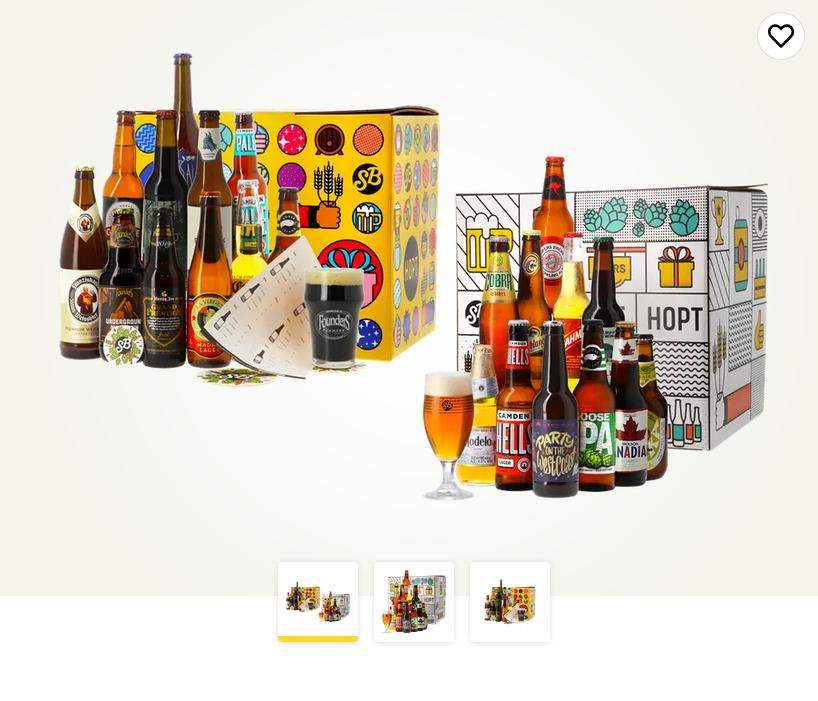 Giftpack Globetrotter + Wereldbier collectie