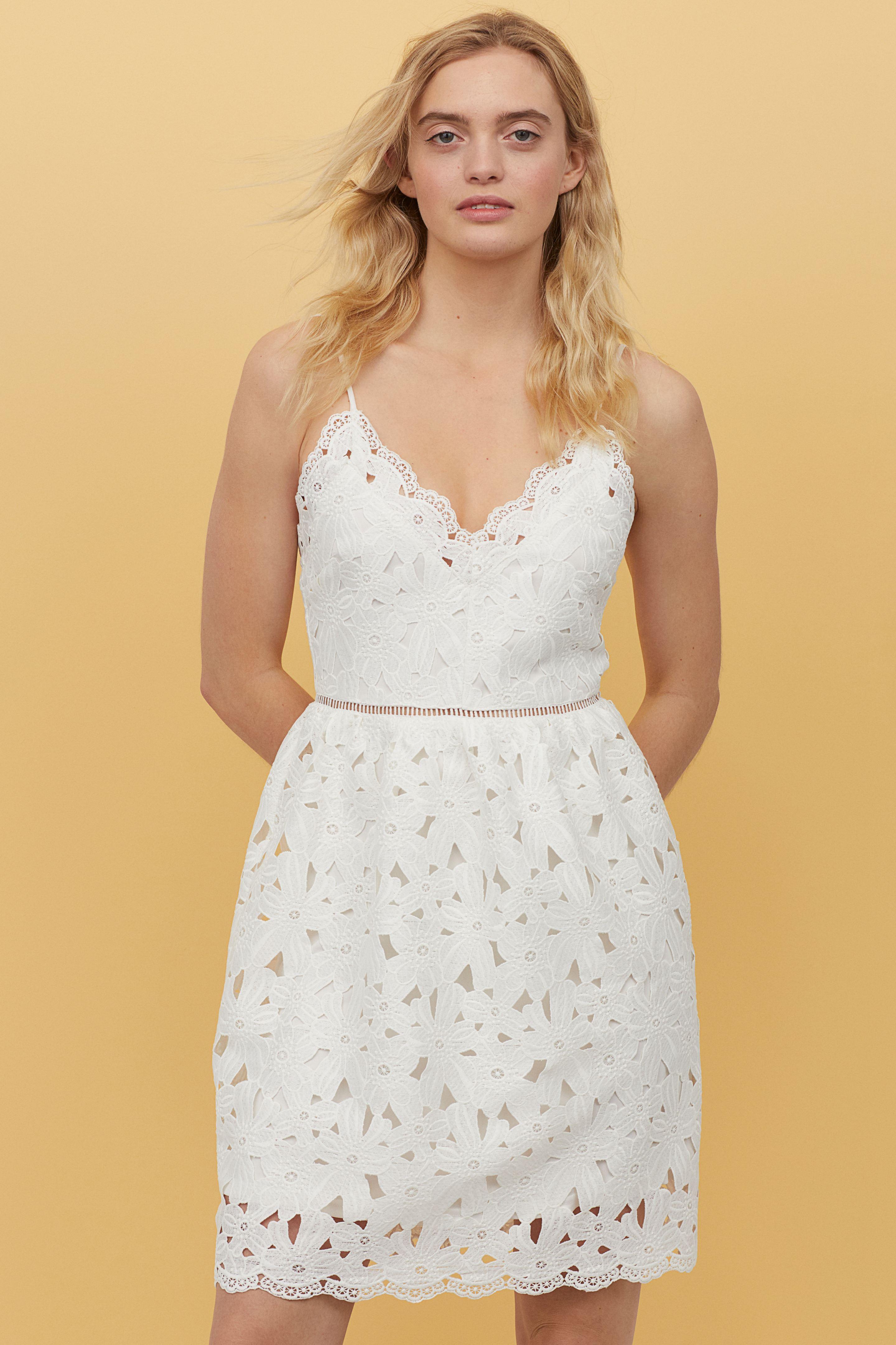 Leuke kanten jurk van H&M