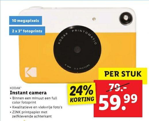 Kodak compact camera printomatic