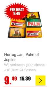 Krat Hertog Jan, Palm of Jupiler