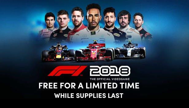 F1 2018 (Steam key) tijdelijk gratis te claimen @ Humble Bundle