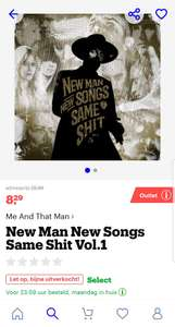 Me And That Man - New Man New Songs Same Shit vol. 1 Vinyl LP [OUTLET]