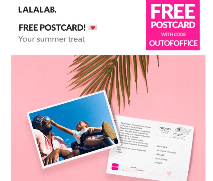 Gratis kaartje bij Lalalab