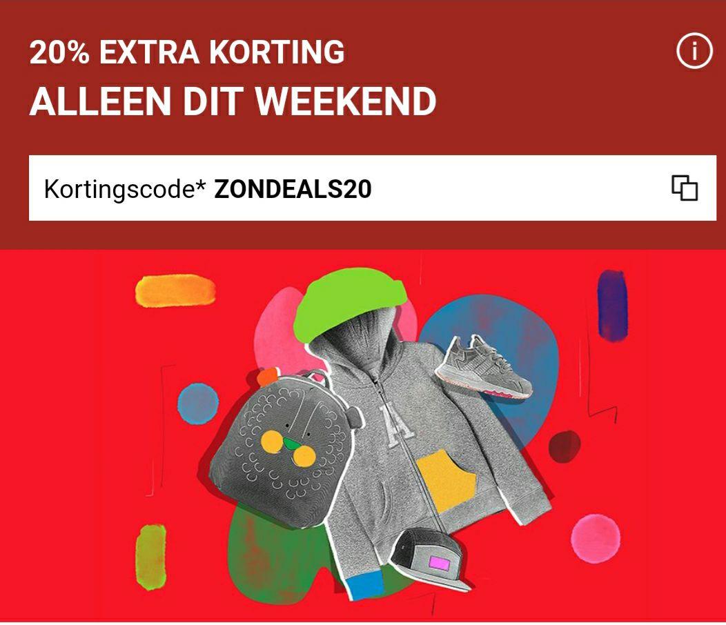 20% extra korting op sale bij zalando (geldig bij bestelling vanaf €100)
