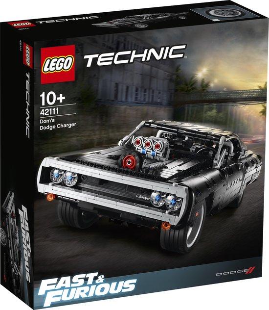 LEGO Technic Dom's Dodge Charger - 42111 Met 10'tje korting wordt het zelfs € 67,93