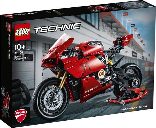 LEGO Technic Ducati Panigale V4 R - 42107 @ Bol.com (met -10 legokorting zelfs 40,83