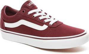 Vans Ward Burgundy dames (34,5 t/m 42,5)