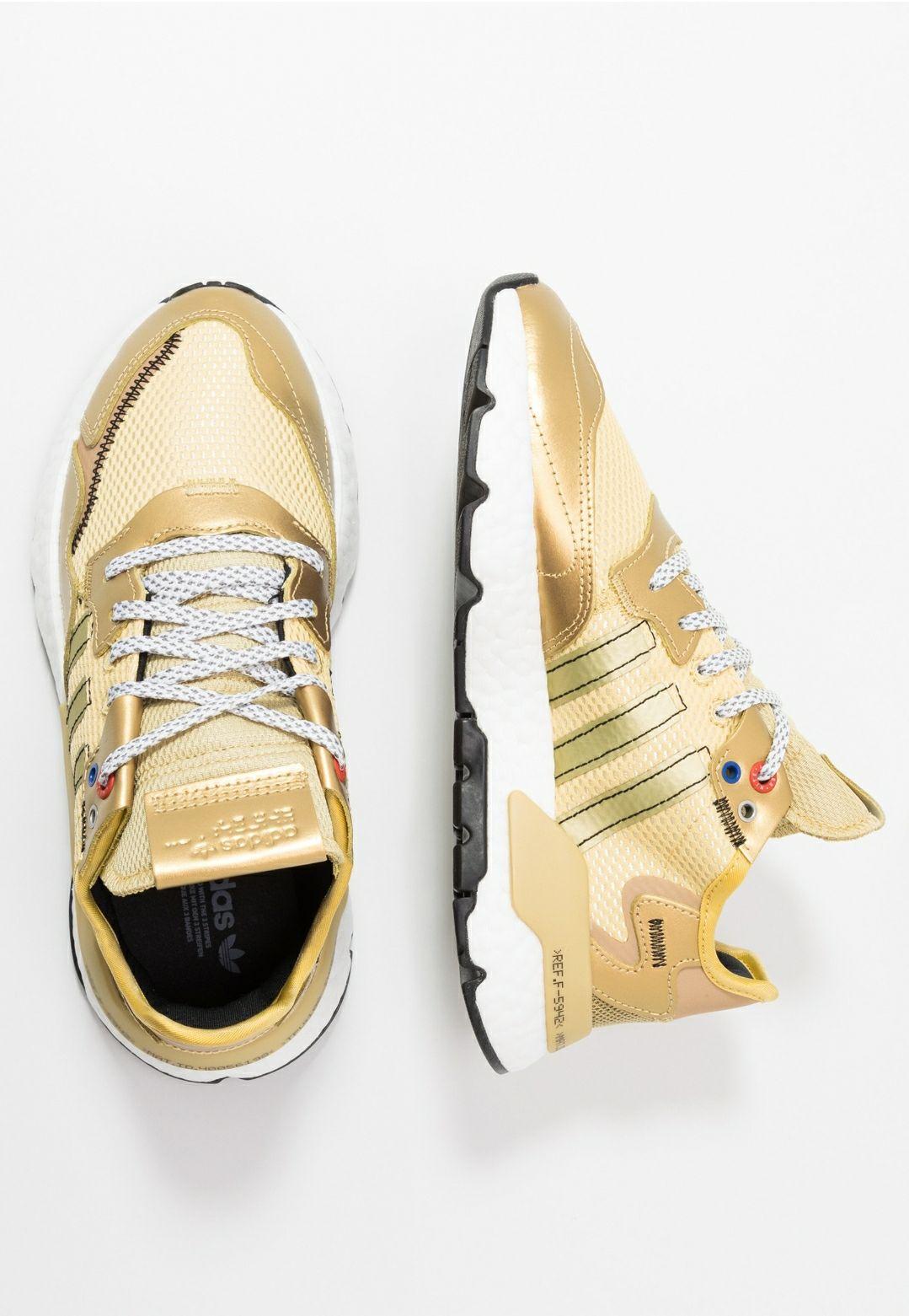 Adidas Nite Jogger Goud dames