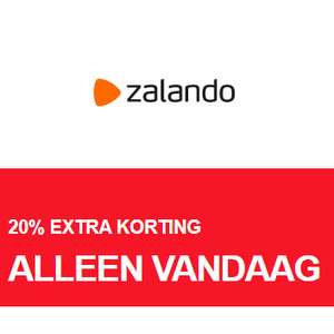Sale / Outlet 20% EXTRA korting [va €100] @ Zalando