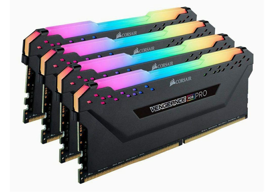 Corsair Vengeance RGB Pro 64GB(4x16GB), 2933MHz, C16