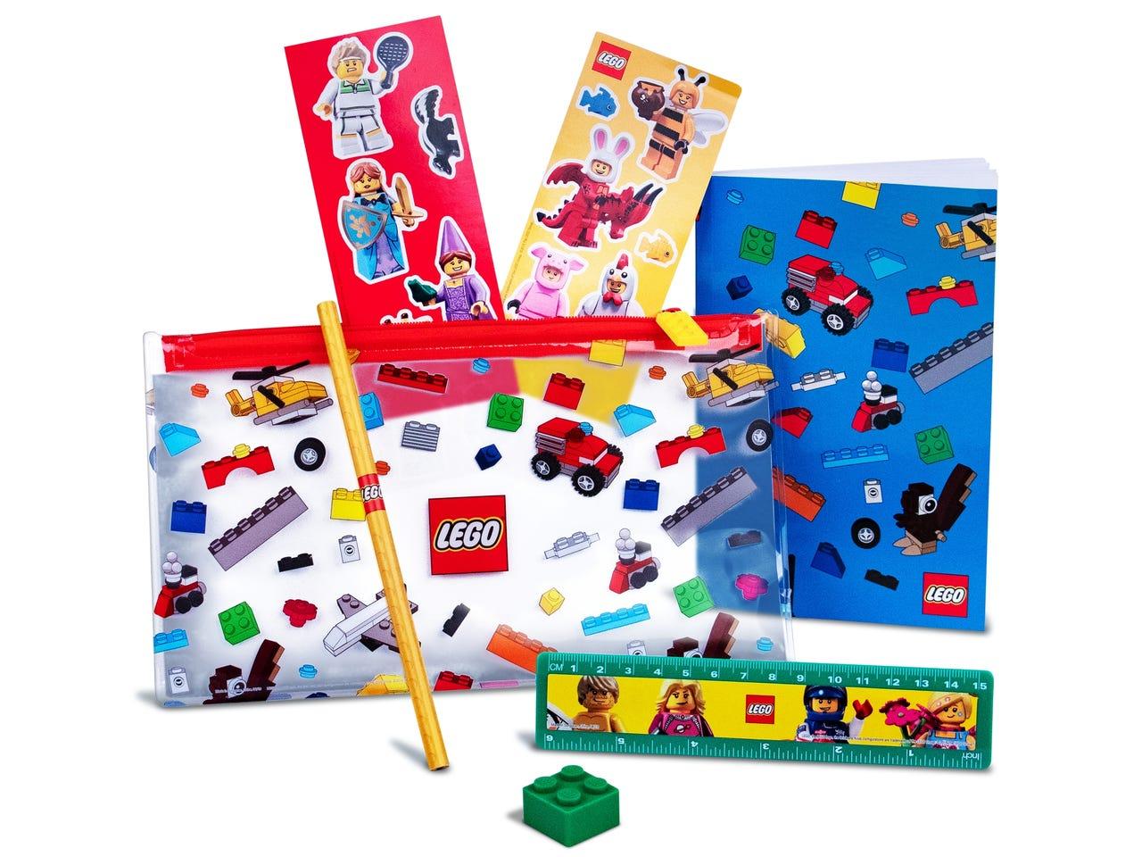 Gratis LEGO Minifiguren en terug naar school set bij besteding van 75 euro