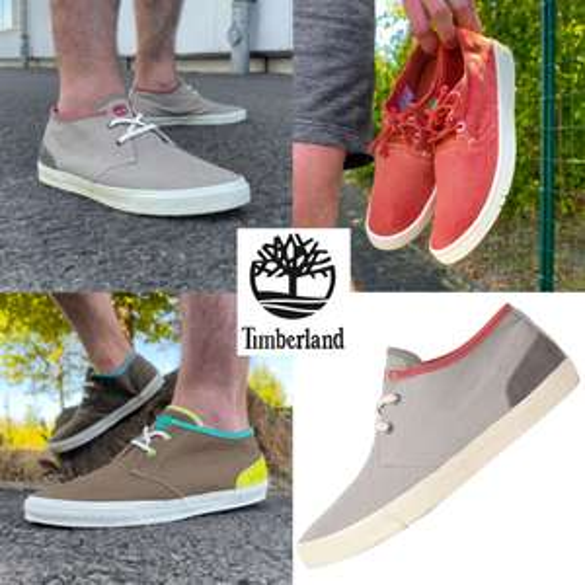 Timberland Hookset Canvas sneakers @ Sport-Korting