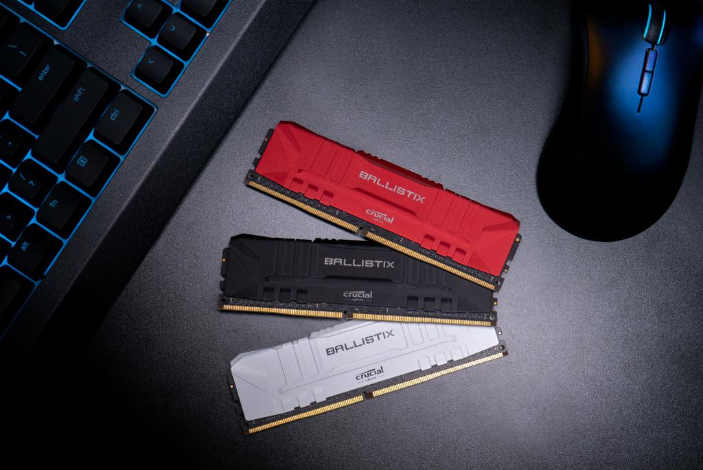 Crucial Ballistix 32GB Kit (2 x 16GB) DDR4-3200 Desktop Gaming RAM