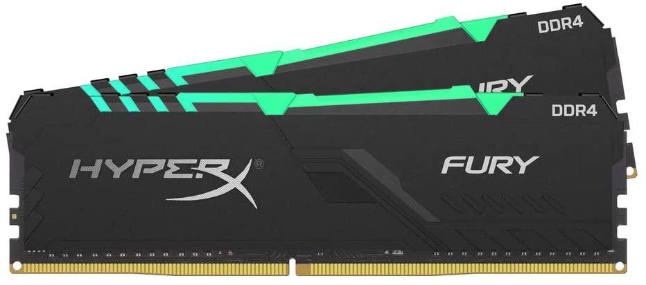 HyperX Fury geheugenmodule 3200 MHz 32 GB (2 x 16 GB) RGB