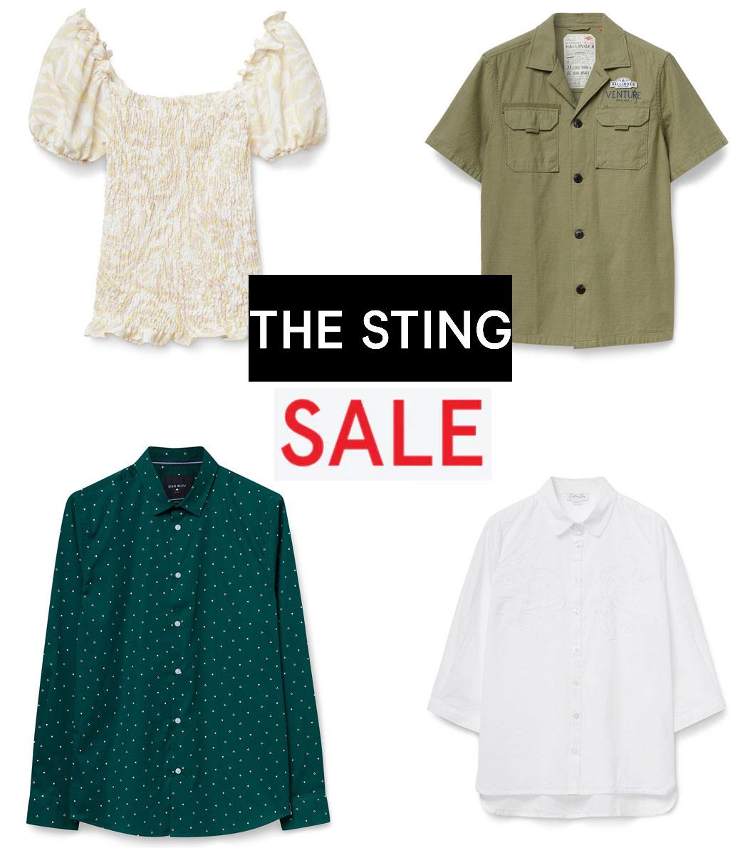 Veel SALE tot €9,95 = tot 85% korting @ The Sting