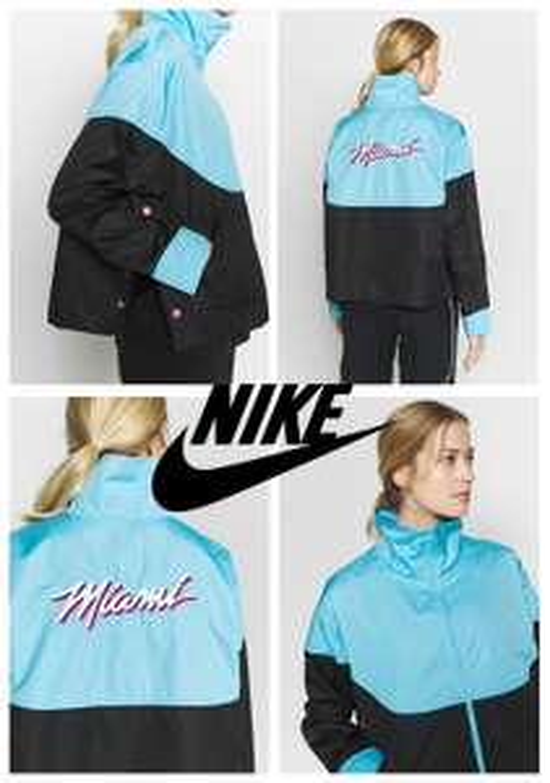 Nike NBA dames sportjack 'Miami' @ Zalando