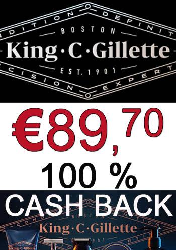 Grensdeal België - Max. 6 Gillette produkten volledig terugbetaald @Delhaize