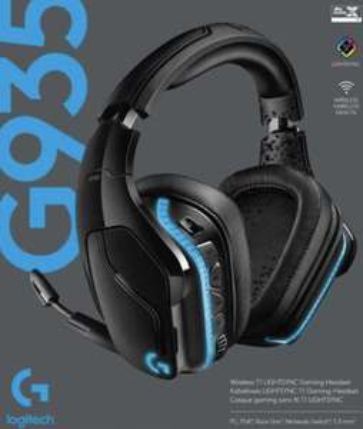 Logitech G935 Wireless 7.1 Surround Sound LightSync