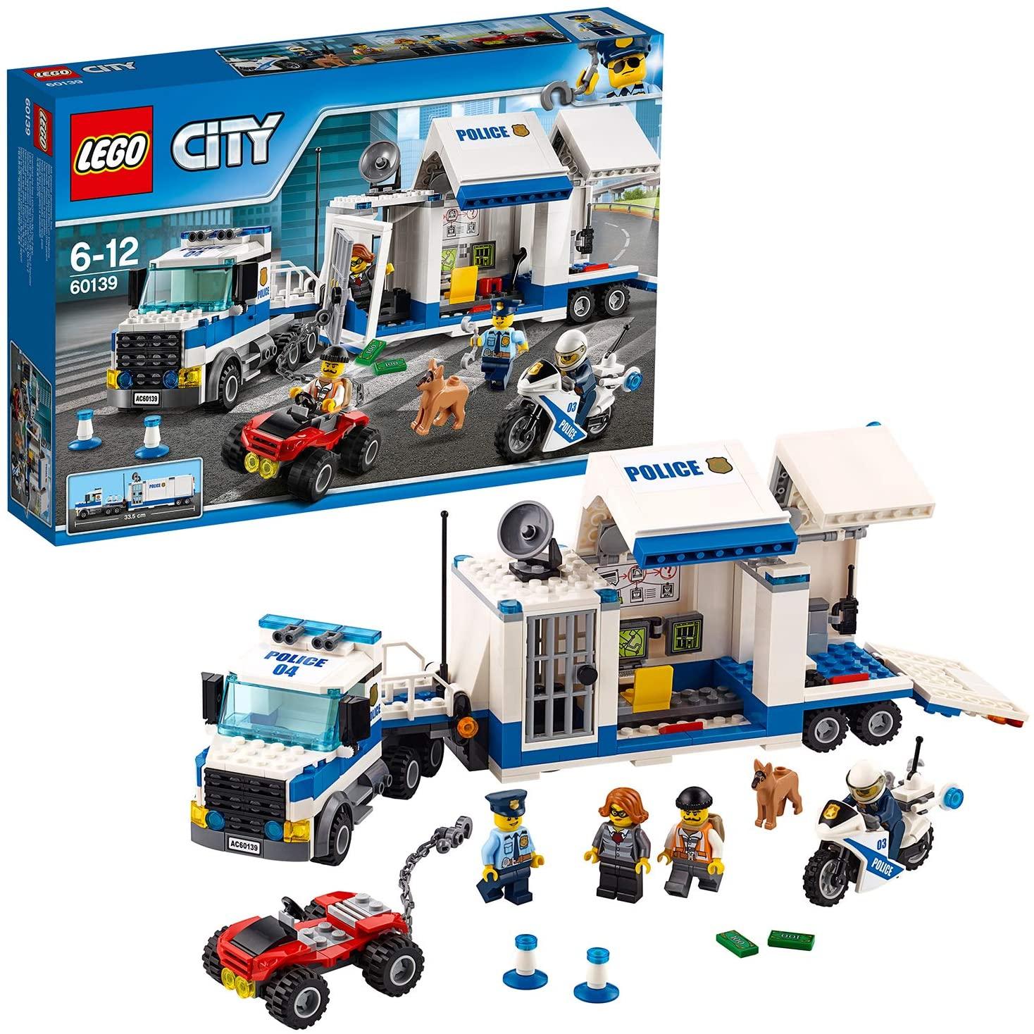LEGO City mobiele commandocentrale 60139 @ Kruidvat