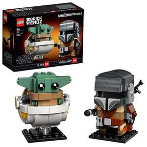 LEGO Star Wars BrickHeadz De Mandalorian en het Kind - 75317