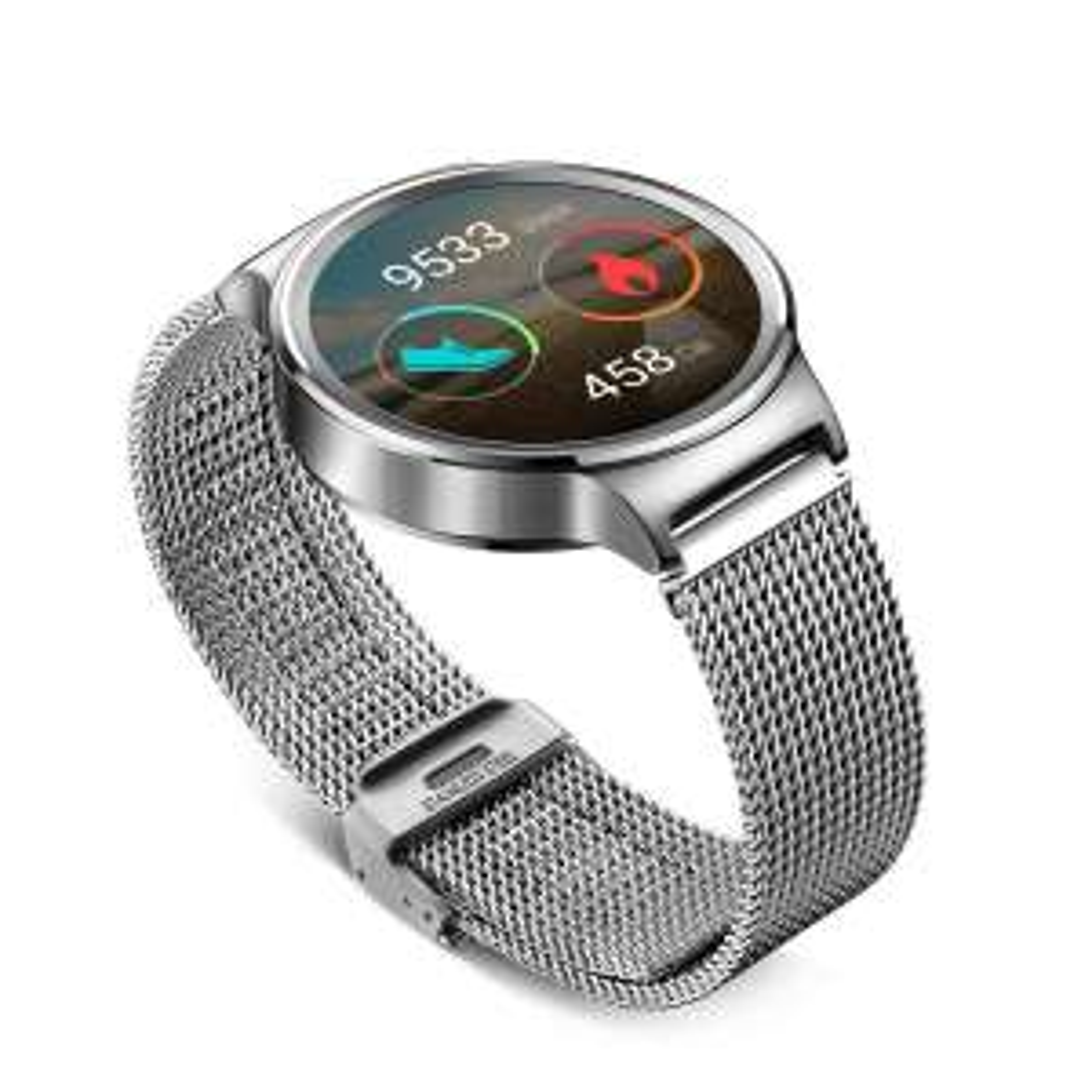 Huawei Watch Classic (gewoven stalen band) voor €287,71 na code @ Amazon.fr