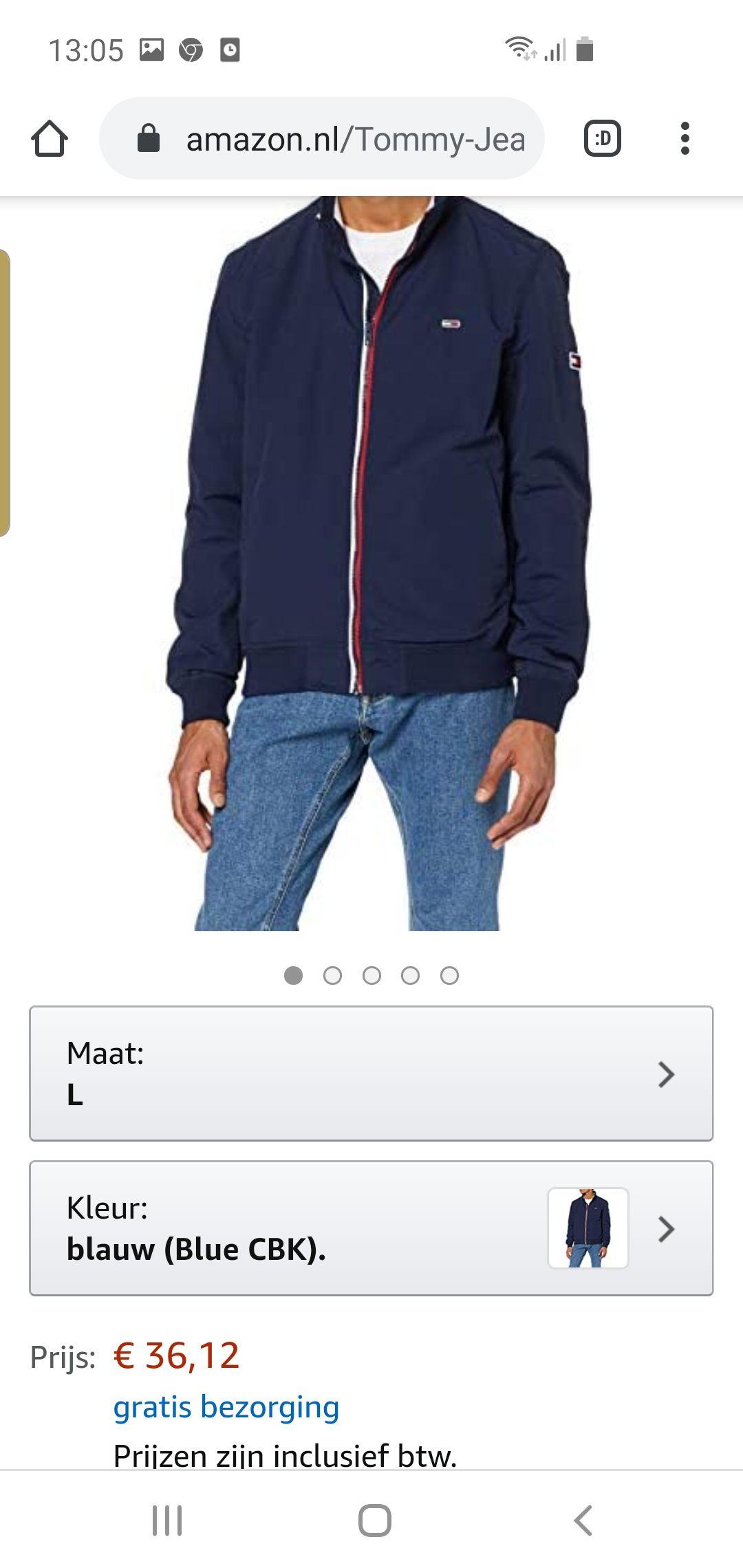 Tommy jeans jacket amazon.nl