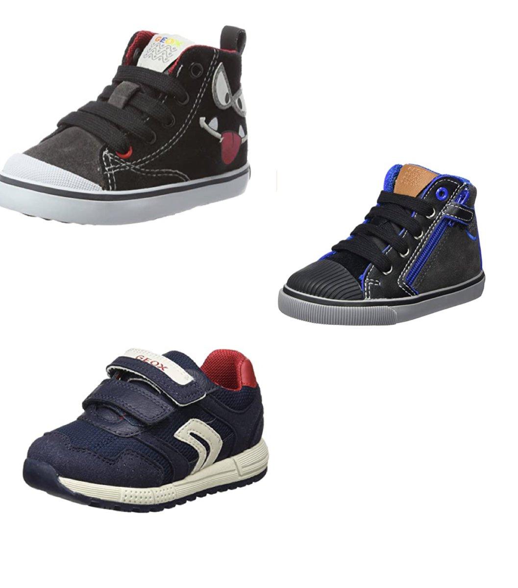 Verschillende geox schoenen kleine maatjes