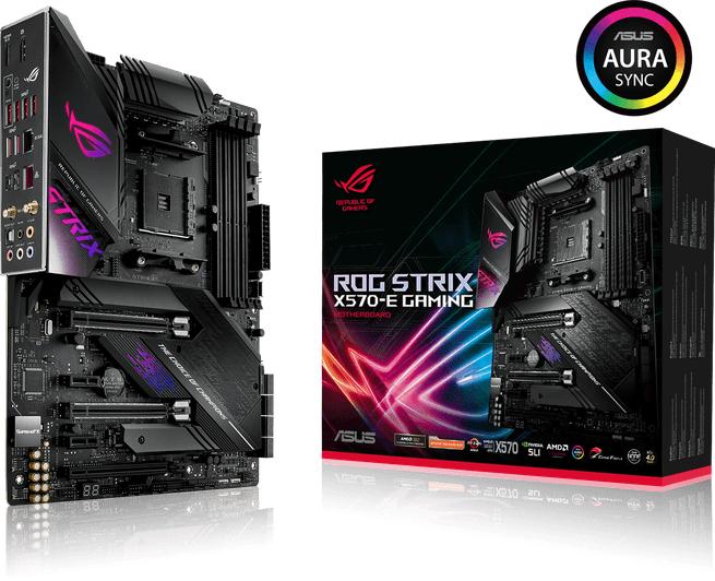 Asus ROG STRIX X570-E GAMING moederbord