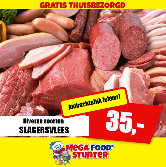 7 KG Slagervlees - Megafoodstunter