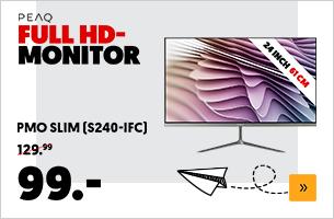 PEAQ PMO Slim (S240-IFC) FHD IPS 24 inch monitor