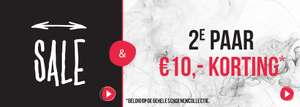 SALE + 2e paar €10 korting @ Dolcis