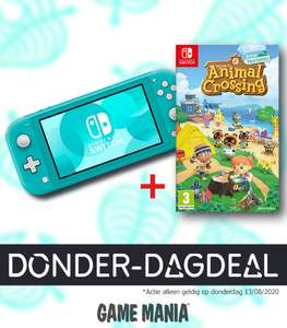 Donderdag-Dagdeal: Nintendo Switch Lite + Animal Crossing