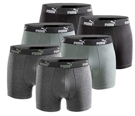 Puma herenboxers 6 pack