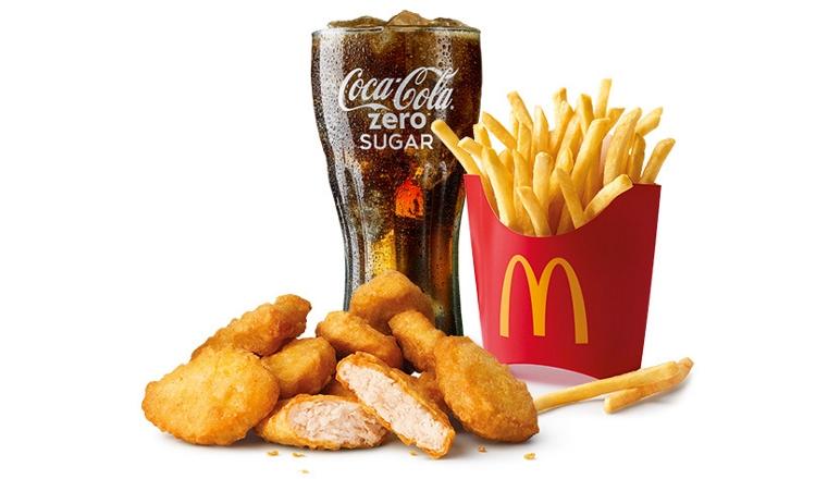 Chicken McNuggets9 Groot Voordeel Menu €6,85 + alle McDonald's kortingscodes (week 33)