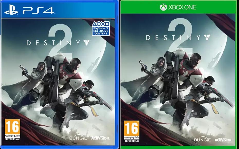 Destiny 2 voor PlayStation 4 en Xbox One €1 @MediaMarkt website