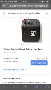 Weber Connect Smart Grilling Hun