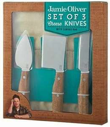 Dagknaller: Jamie Oliver kaasmessen-set