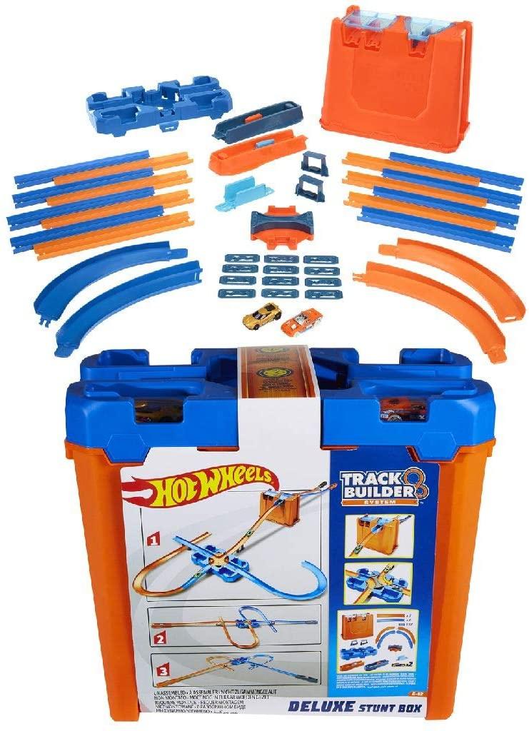 Hot Wheels Track Builder Luxe Stuntbox voor €26,08 @ Amazon.nl