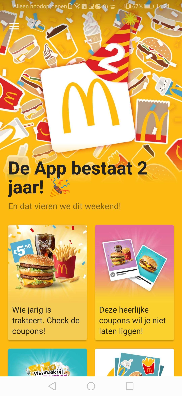 Big Mac Medium Voordeelmenu €5,90