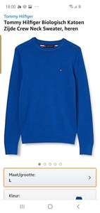 Tommy hilfiger sweater amazon.nl