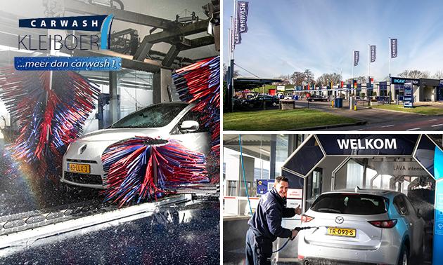 Auto wassen met Lava intensief (lokaal: Apeldoorn)