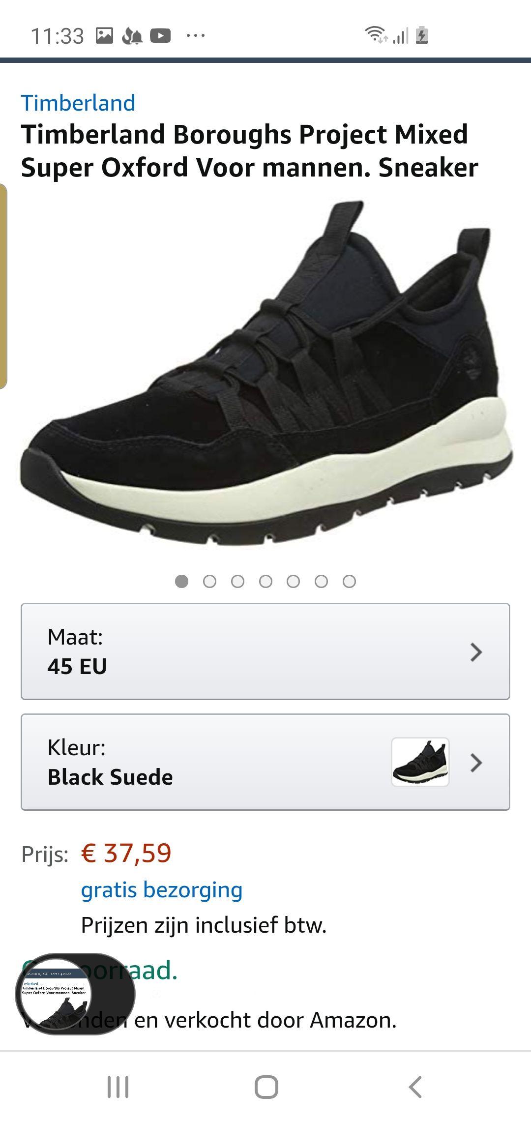 Timberland sneakers amazon.nl