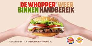 15+ Burger King kortings coupons! Geldig tot en met 31-8-2020