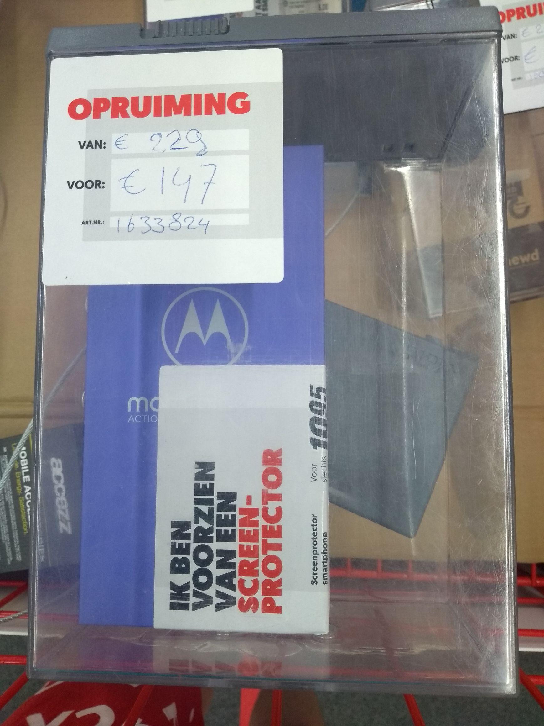 [LOKAAL] Motorola One Action Smartphone voor €147 @ MediaMarkt Almere